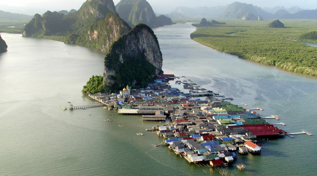 fiskerby panyee i thailand