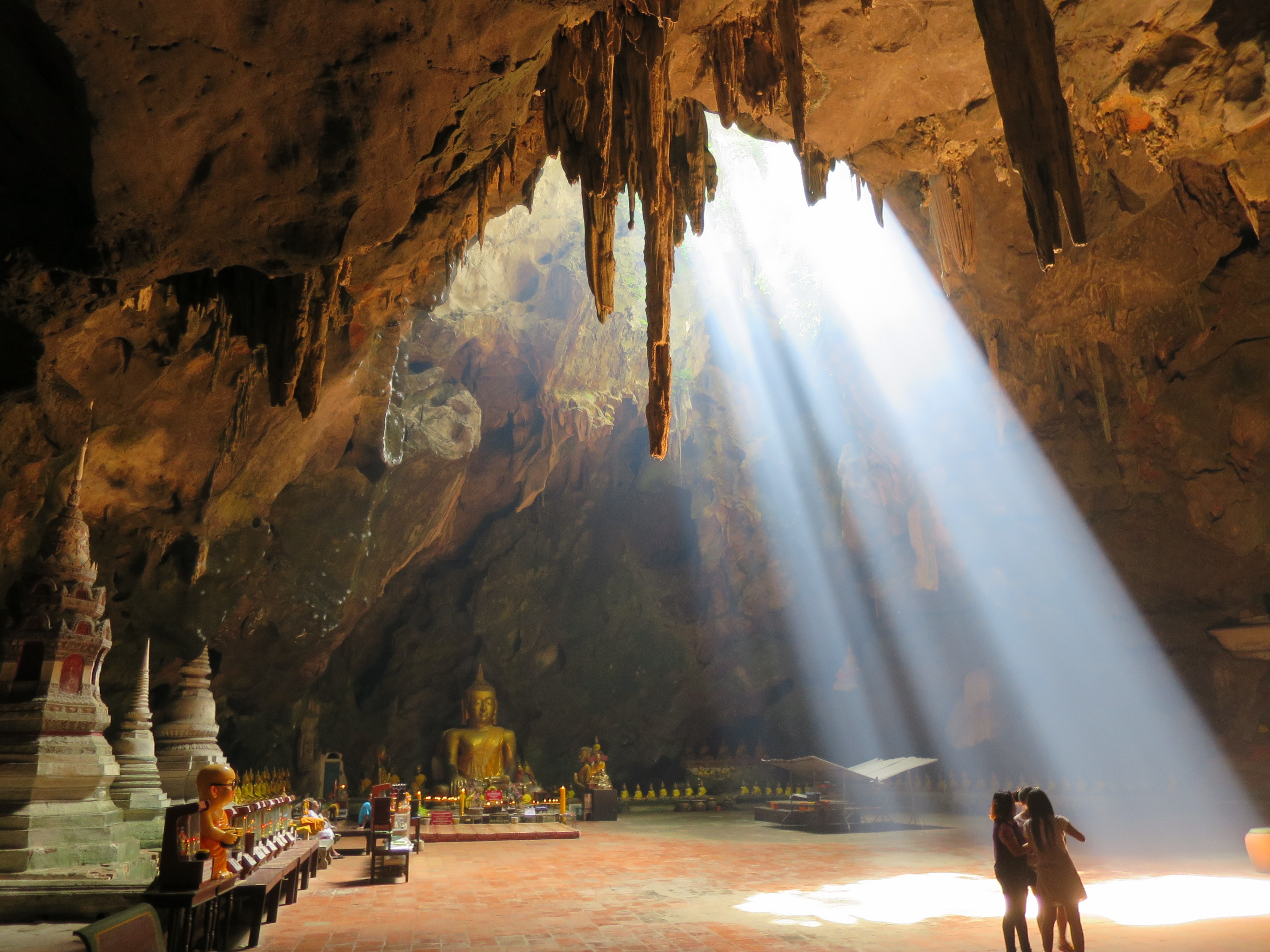 Khao Luang Caves Thailand